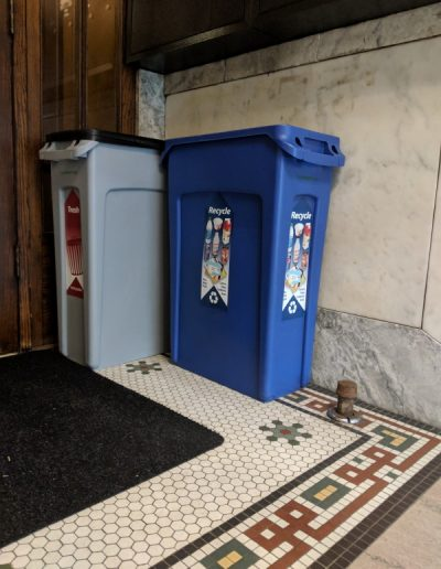 622 mail area recycling